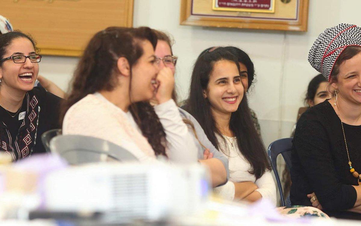 בנות המדרשה באירוע